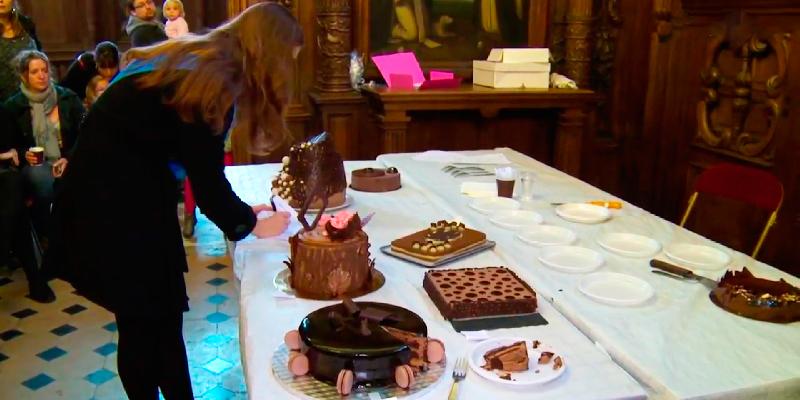 Concours de Patisseries au Salon du Chocolat de Compiègne 2017 pour Tous ensemble avec Maël - Lions Clubs du Nord de la France