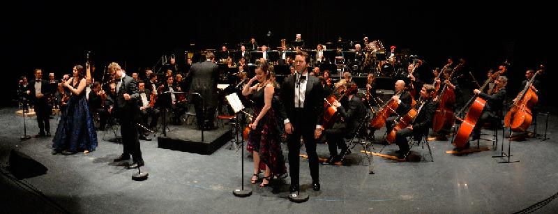 Concert de Noël 2017 à Maubeuge, avec l'Orchestre National de Lille - Lions Clubs du Nord de la France
