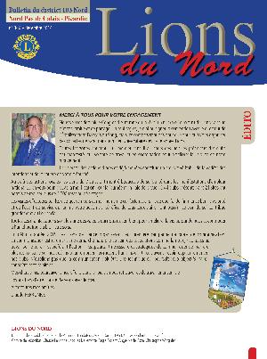 Revue Lions du Nord - n° 346 - Décembre 2014 - Lions Clubs du Nord de la France