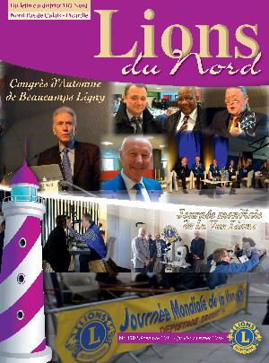 Revue Lions du Nord - n° 350 - Janvier 2016 - Lions Clubs du Nord de la France
