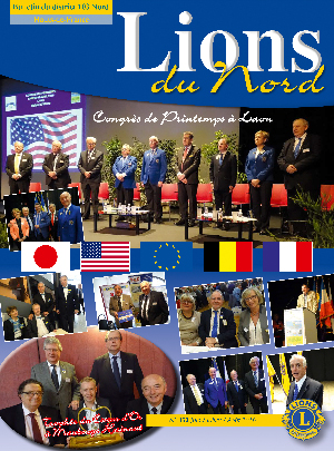 Revue Lions du Nord - n° 352 - Juin 2016 - Lions Clubs du Nord de la France