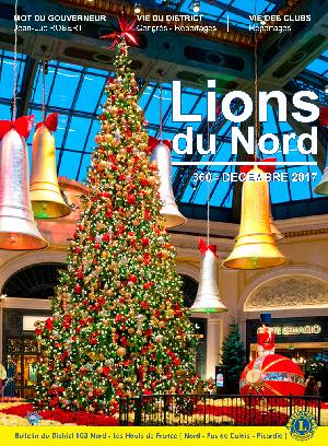 Revue Lions du Nord - n° 361 - Janvier 2018 - Lions Clubs du Nord de la France