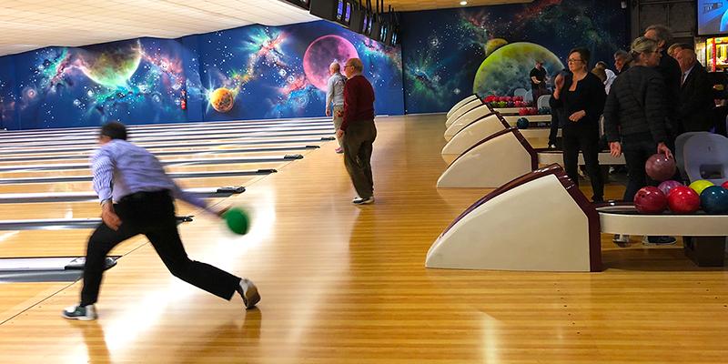Soirée Bowling 2018 à Amiens pour Sourires à Faire Faces - Piste 1 - Amiens Doyen - Lions Clubs du Nord de la France
