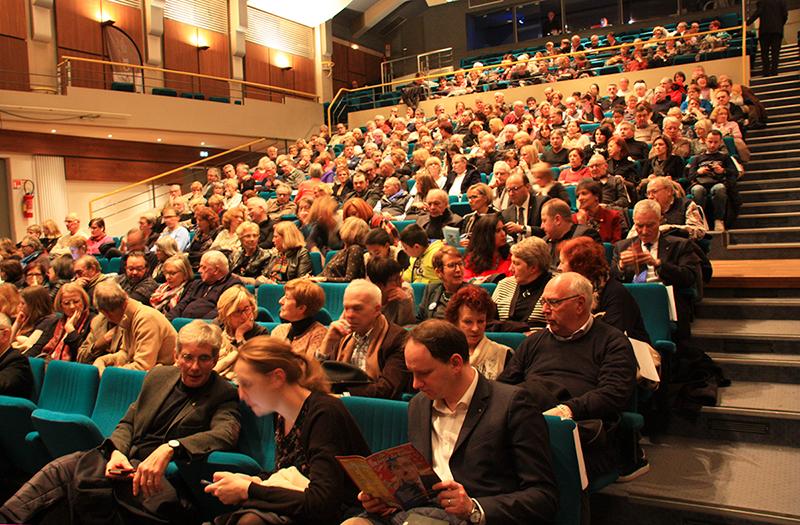 Théâtre : Délit de Fuites pour luter contre le Cancer chez l'Enfant - l'Auditorium 2018 - Amiens Somme - Lions Clubs du Nord de la France