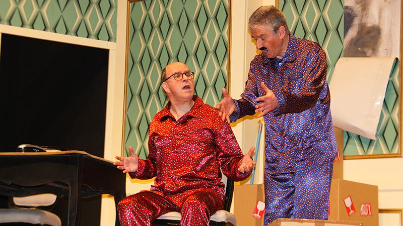 Théâtre : Délit de Fuites pour luter contre le Cancer chez l'Enfant - Soirée Pijamas 2018 - Amiens Somme - Lions Clubs du Nord de la France